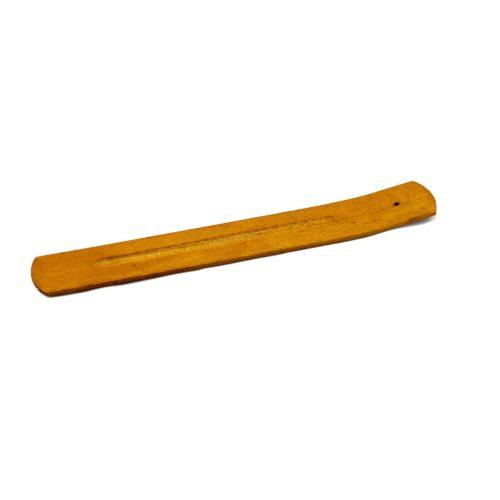 Räucherstäbchen Halter aus braunem Holz
